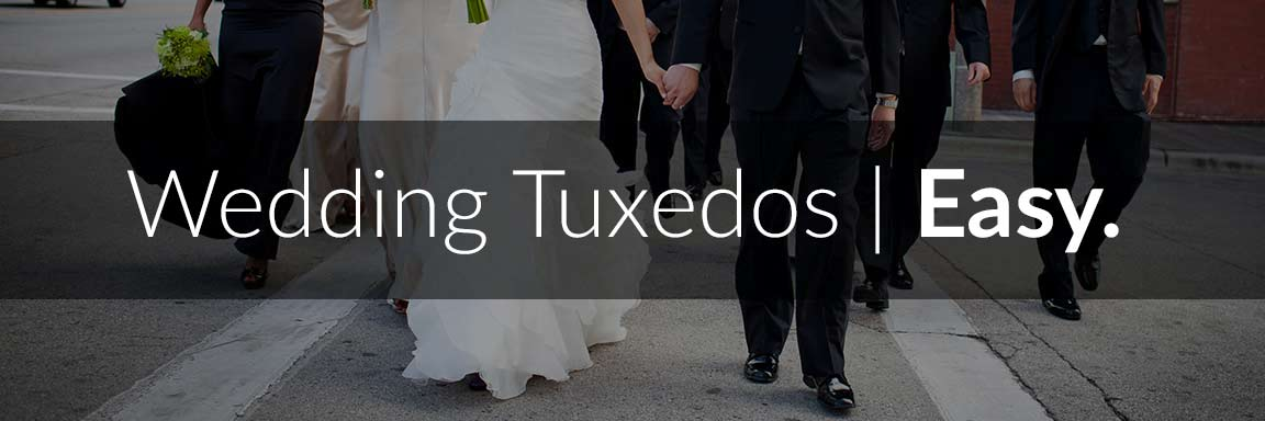 Easy Wedding Tuxedo Rental